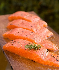 Salmon is a healthy choice to promote heart health!