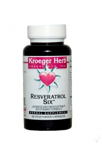 The health benefits of Resveratrol Six stretch throughout the body!